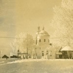 716095 Orthodox Church in winter  time