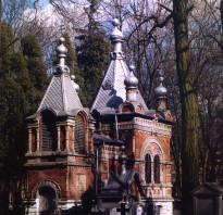 Lublin cerkiew św. Andrzeja na cmentarzu