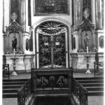 Wilno Ikonostas cerkwi św. Ducha