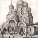 Warszawa, sobór katedralny, czarno-biała