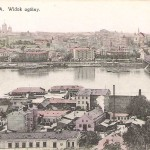 Warszawa widok ogólny z soborem w tle
