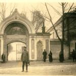 Brama klasztor św. Ducha