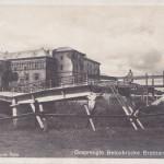 brzeżany. zniszczony most