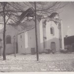 hołoby. zniszczony kościół katolicki